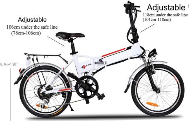 "Aceshin ""20 Electric Bike"