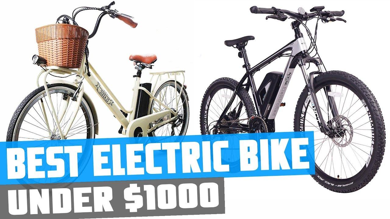 Best Electric Bikes under $1000