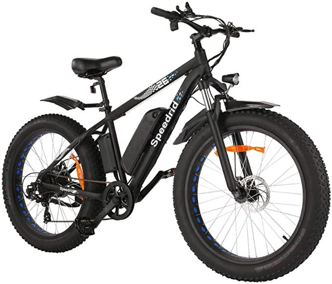 Speedrid Big Wheels Fat Tire Electric Bike under $1000